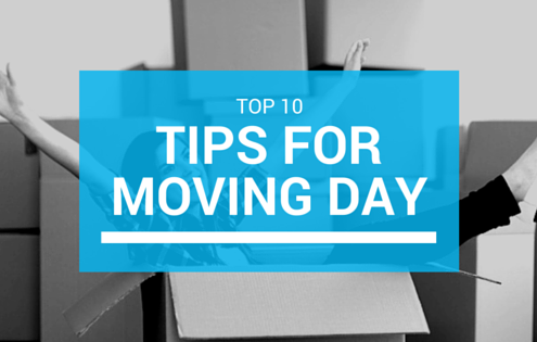 Top 10 Tips for Moving Day in London