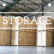 how are my goods stored in London