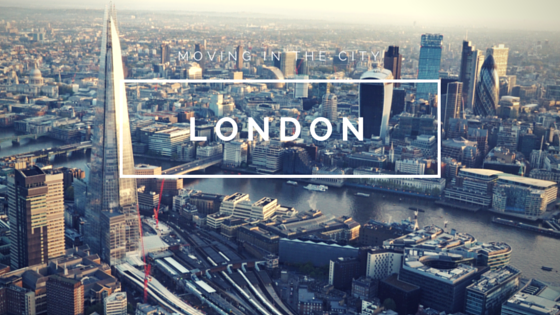 Removals London - Moving in London