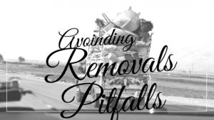 Removals London - avoiding removals pitfalls