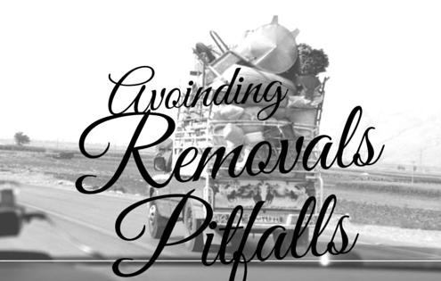 Removals London - avoiding removals pitfalls