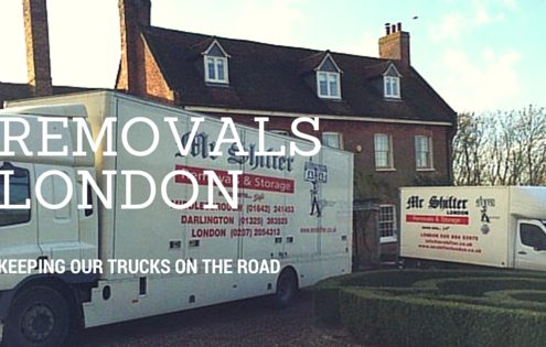 Removals London - Keeping our Trucks on the road