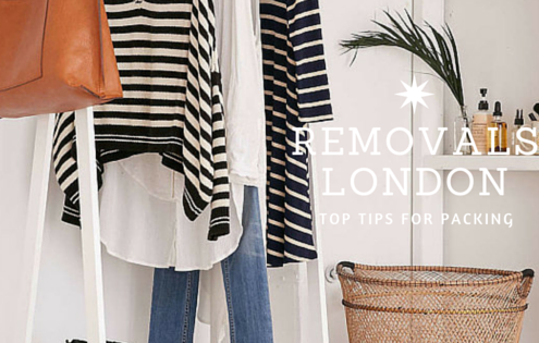 Removals London: Top Tips for Packing