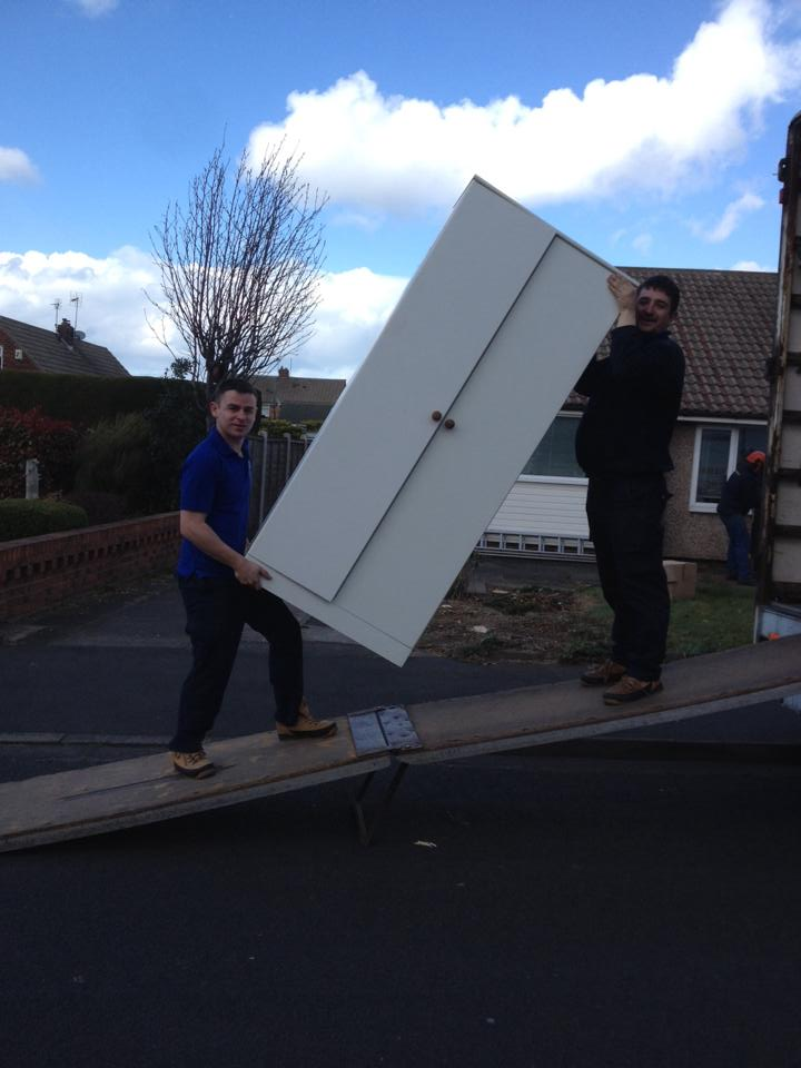 Trained staff removals