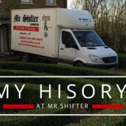 Removals London - My History at Mr Shifter
