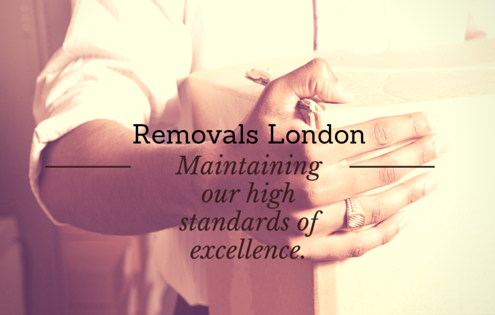 Removals London - Maintaining our high standards of excellence