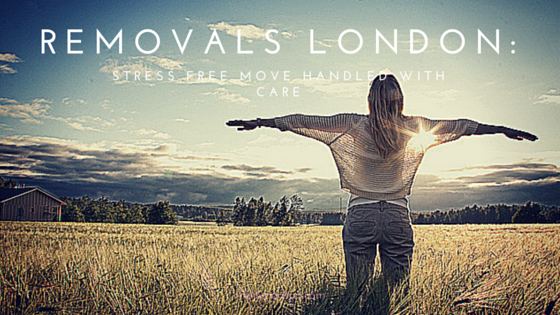 Removals London: Stress free move handled with care