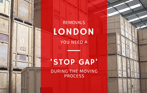 Removals London: You Need a Stop Gap during the moving process