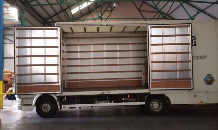 Containerised storage London