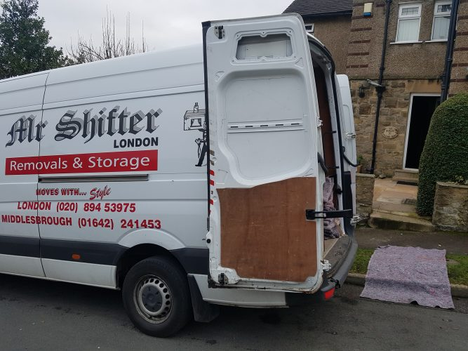 Moving home with Mr Shifter London