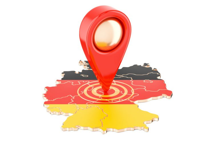 Map Pointer for Germany 750x500 - Removals to Germany