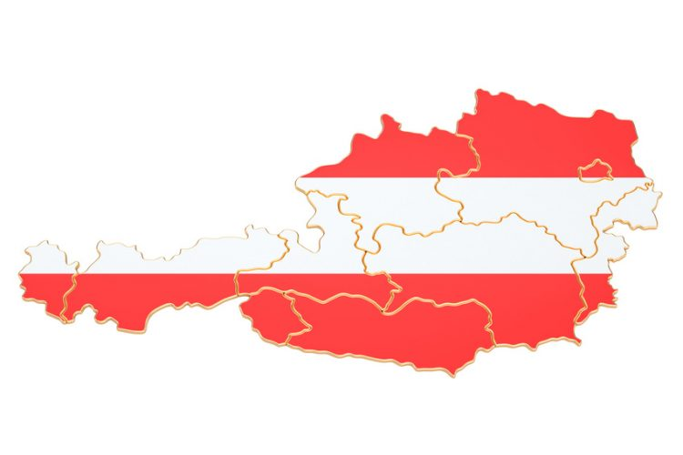 Map of Austria 750x500 - Removals to Austria